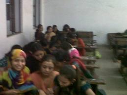 C U Shah Arts College Class Room